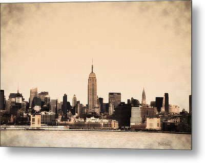 Empire State Building Metal Print by Bill Cannon