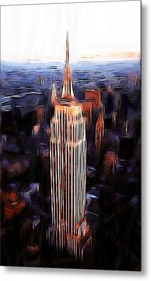 Empire State Building Metal Print by Steve K