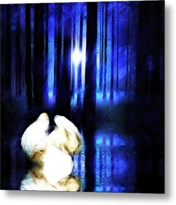 Enchanted Forest Metal Print by Sharon Lisa Clarke