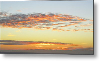 End Of The Day Metal Print by Mariola Szeliga