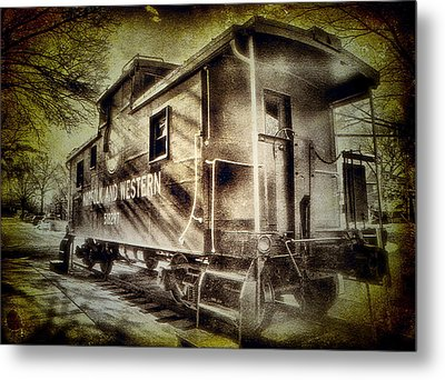 End Of The Line II Metal Print by Steven Ainsworth