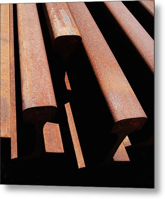 End Of The Line Metal Print by Steven Milner