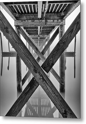 Endless Pier Metal Print by Brian Young