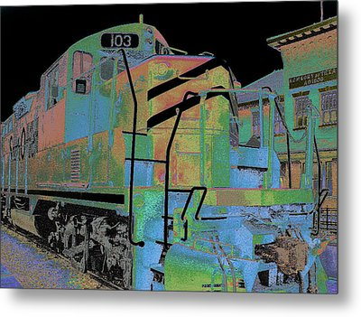 Engine 103 Metal Print