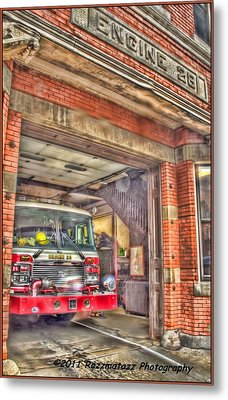 Metal Print featuring the photograph Engine 28 by Jim Lepard