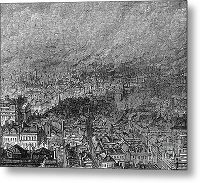 England: Manchester, 1876 Metal Print by Granger