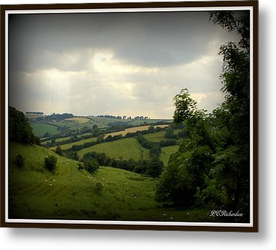 English Countryside Metal Print by Priscilla Richardson