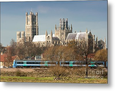Metal Print featuring the photograph English Train by Andrew  Michael