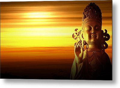 Enlightenment Metal Print by Anthony Citro