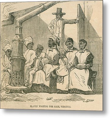 Enslaved African American Women Metal Print by Everett