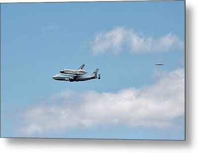 Enterprise Flyby Metal Print