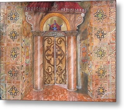 Entrance Metal Print by Constantinos Louca