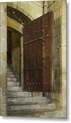Entrance Metal Print by Marta Cavazos-Hernandez