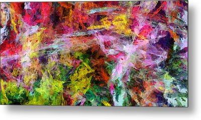 Entusiasmo Metal Print by RochVanh