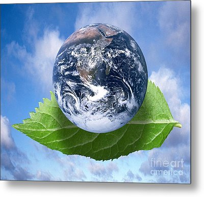 Environmental Issues Metal Print by Victor de Schwanberg  and Photo Researchers