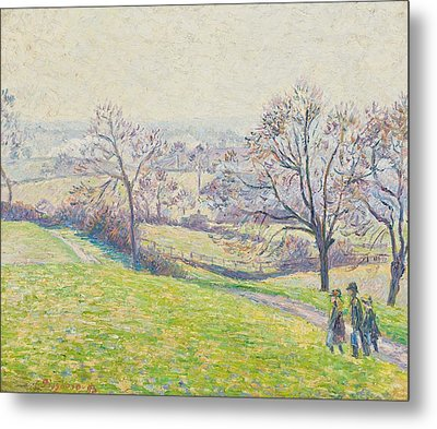 Epping Landscape Metal Print by Camille Pissarro