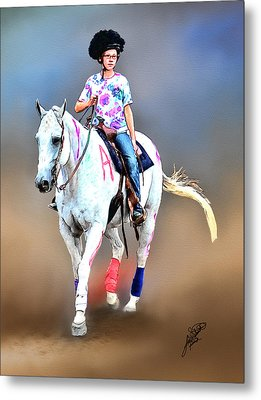 Equestrian Competition II Metal Print by Tom Schmidt