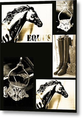 Equestrian Licensing Art Metal Print by Anahi DeCanio