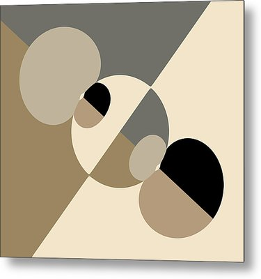 Equilibrium Metal Print by Mark Greenberg