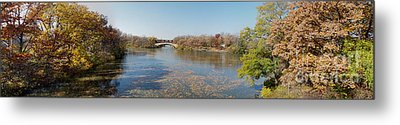Metal Print featuring the photograph Erie Canal Panorama by William Norton