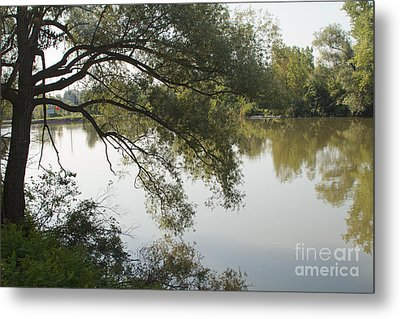 Metal Print featuring the photograph Erie Canal Turning Basin by William Norton