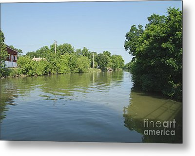 Metal Print featuring the photograph Erie Canal by William Norton