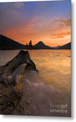 Eroded Away Metal Print by Mike  Dawson