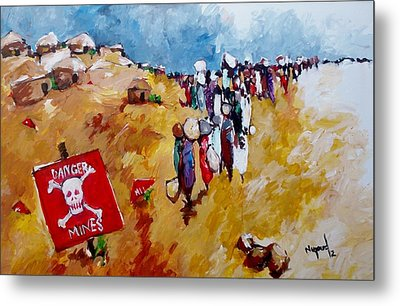 Escape.. Metal Print by Negoud Dahab