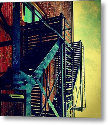 Escape To The Sky Metal Print