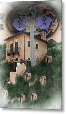 Escher's Dream Metal Print by Nina Fosdick