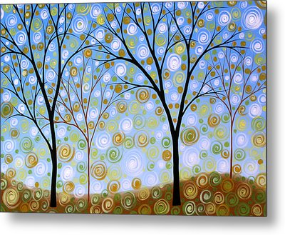 Essence Of The Day Metal Print by Amy Giacomelli