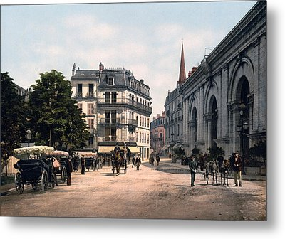 Etablissement Thermal - Aix France Metal Print by International  Images