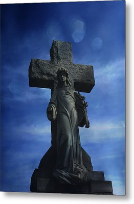 Metal Print featuring the photograph Eternal Hope by Robin Dickinson