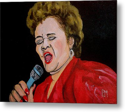 Etta Metal Print by Pete Maier