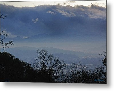 Evening At Grants Pass Metal Print by Mick Anderson