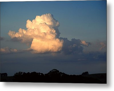 Evening Clouds 2 Metal Print