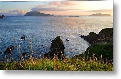 Evening In Kerry Metal Print by Barbara Walsh