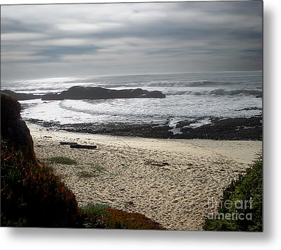 Evening Ocean Surf Metal Print by The Kepharts