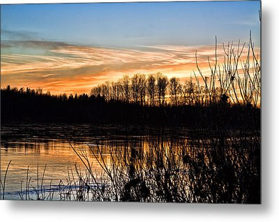 Evening Sunset Metal Print by Gary Smith