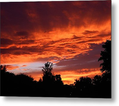 Evening Waltz Metal Print