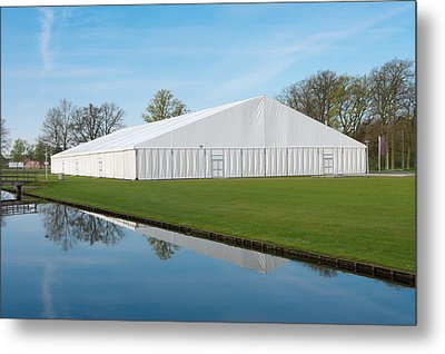 Event Tent Metal Print by Hans Engbers