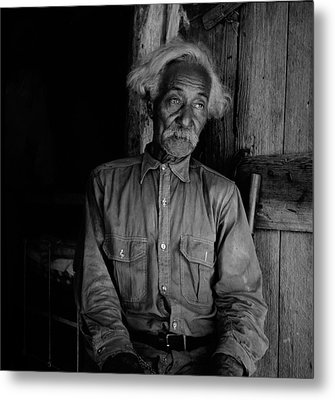 Ex-slave Bob Lemmons Was Born Metal Print by Everett