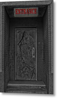 Exit Metal Print by Jerry Cordeiro