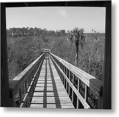 Metal Print featuring the photograph Exit To by Bill Lucas