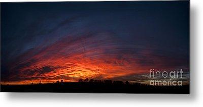 Expansive Sunset Metal Print by Art Whitton