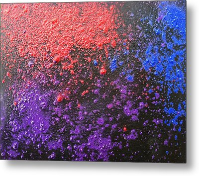Experiement Metal Print by Tiffany King