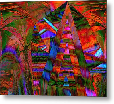Exploration Metal Print by Paula Ayers
