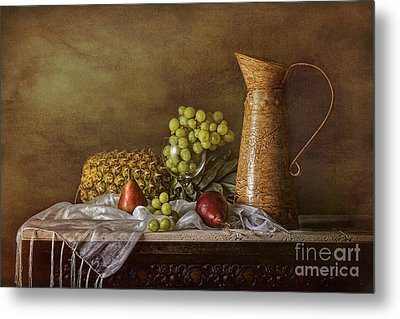 Exploring Still Life Metal Print by Sari Sauls