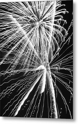 Explosions For Sovereignty And Liberty Metal Print by Carolina Liechtenstein