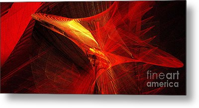 Explosive Dance Metal Print by Andee Design